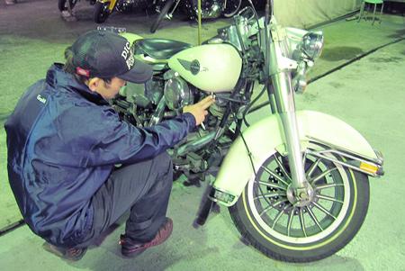 バイクの車両買取