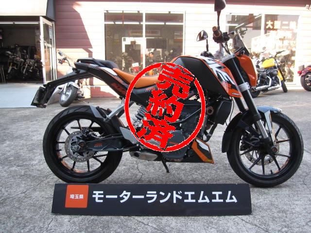 KTM200 デューク